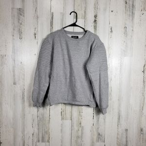 7even souls gray sweater size large